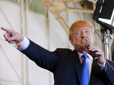 Republican Presidential nominee Donald Trump. Reuters file image