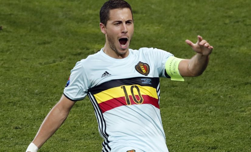 Eden Hazard's performance against Hungary should make Wales wary of the attakcer. AP