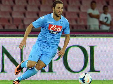 Napoli president pushed me to chose Juventus: 'Traitor' Gonzalo Higuain hits back at