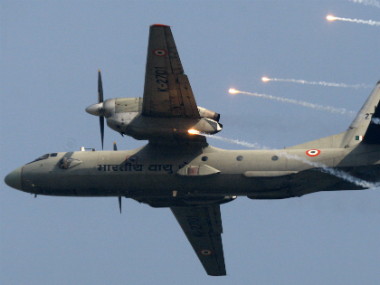 A file image of IAF AN-32 aircraft.