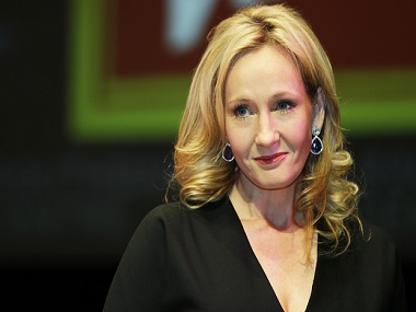 Prince William presents Companion of Honour award to JK Rowling