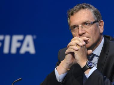 Jerome Valcke. AFP