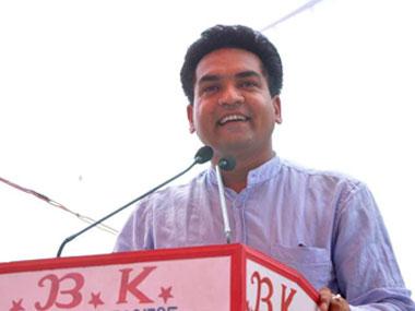 File image of Kapil Mishra. Twitter @KapilMishraAAP