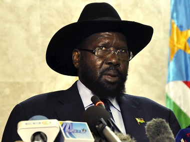 South Sudan's President Salva Kiir in a file photo. Reuters