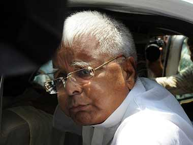 File image of Lalu Prasad Yadav. AFP
