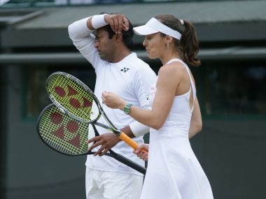 Wimbledon 2016 Leander PaesMartina Hingis suffer shock third round exit as Indian challenge ends