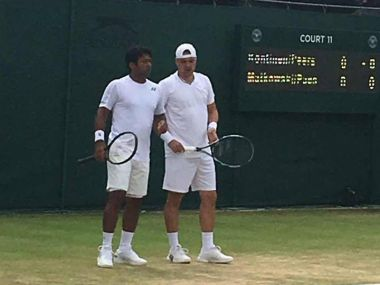 Wimbledon 2016 Leander PaesMarcin Matkowski crash out after second round loss