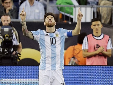 Lionel Messi vows to continue to fight to keep Argentina's World Cup 2018 qualifying dream alive