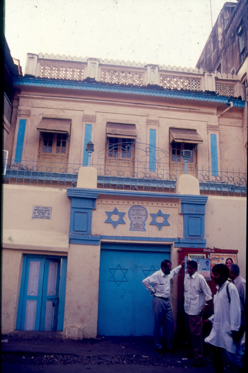 Mumbai's oldest and first Bene-Israel synagogue - Shaar Harahamin (Gate of Mercy) – built by Commandant Samaji Hasaji Divekar in 1796, as a thanksgiving and commemoration of his close escape from certain death after being taken prisoner by Tipu Sultan's soldiers during the Second Mysore War. Image courtesy Jamshed Lentin