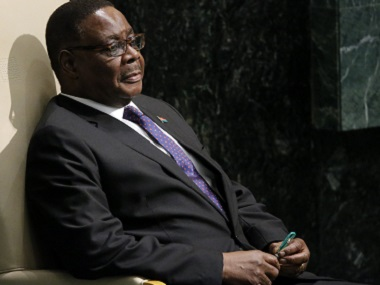 Malawi President Peter Mutharika has vowed to go hard after the hyena. Reuters file image