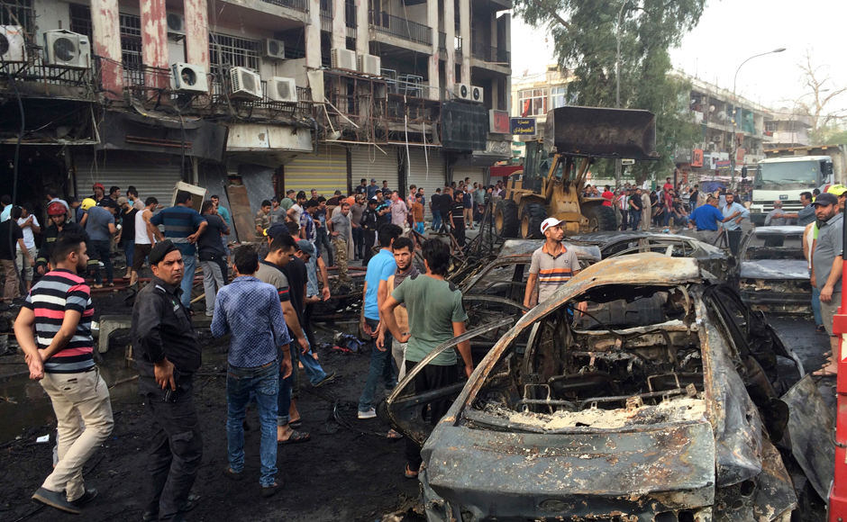Islamic State claimed responsibility for the attack in a statement, circulated online by supporters of the ultra-hard line Sunni group, which said that the blast was a suicide bombing. Photo Courtesy: AP