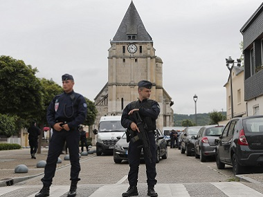 France church attack: 'They held me with a revolver to my neck,' reveals elderly hostage
