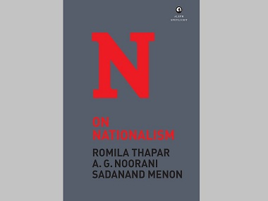 On Nationalism book cover 380
