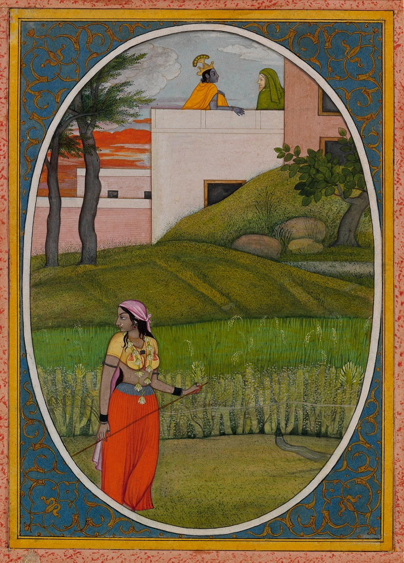 The Village Beauty Probably painted by the artist Fattu (active ca. 1770– 1820). Image courtesy The Metropolitan Museum of Art