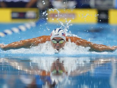 Michael Phelps at USA Olympic swimming trials. Reuters