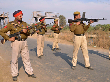 Clashes and protest in Phagwara, heavy police force deployed