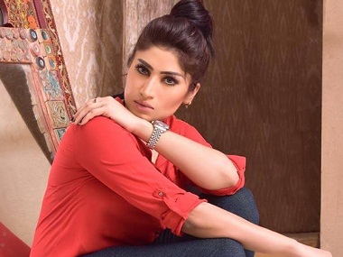 Qandeel Baloch. Image taken from Facebook