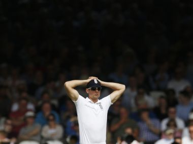 File photo of Alastair Cook, Reuters