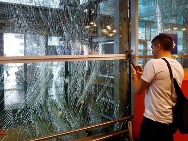Turkey's largest airport, Istanbul Ataturk, Turkey, one day after the attack. Reuters