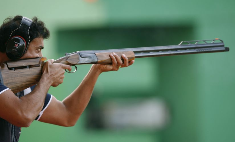 Rajyavardhan Singh Rathore was the lone Indian Olympic medalist at the Athens Olympics. Reuters