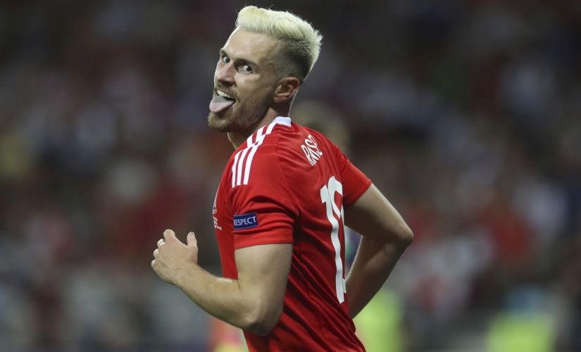 Aaron Ramsey is Wales'primary chance creator with 2 assists in Euro 2016. AP