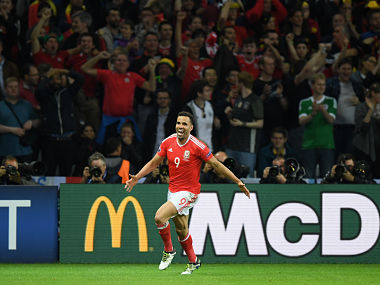 Euro 2016 RobsonKanu fires Wales past Belgium into historic semifinal