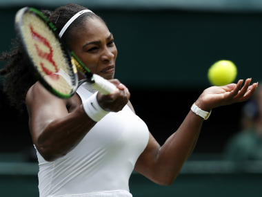 Serena Williams. AP