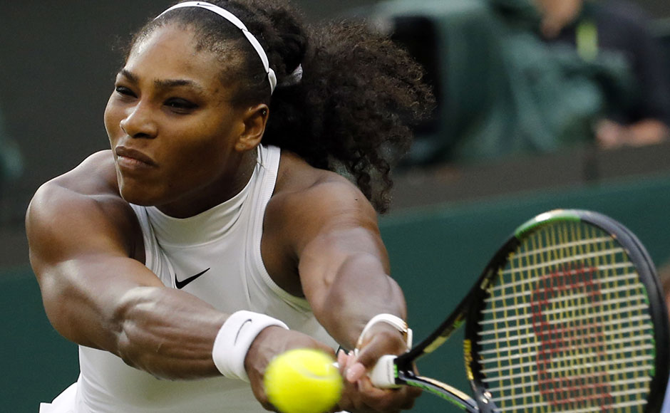 "Williams recovered to force a third set, only to fall behind yet again Friday, perilously close to what would have been the six-time champion's earliest exit in 17 Wimbledon appearances. But as she herself declared afterward: ""Mentally, no one can break me."" AP"