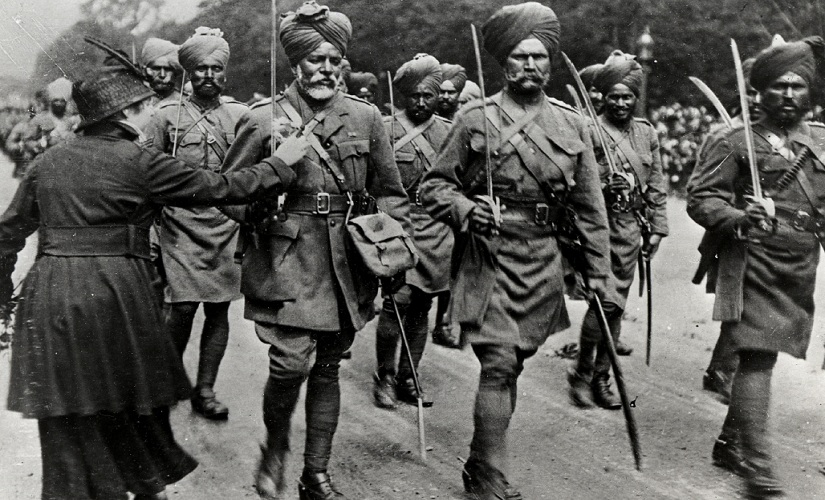 Empire Faith  War One websites efforts at chronicling the Sikh contribution to WWI