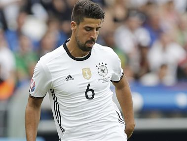 Germany's Sami Khedira. AP
