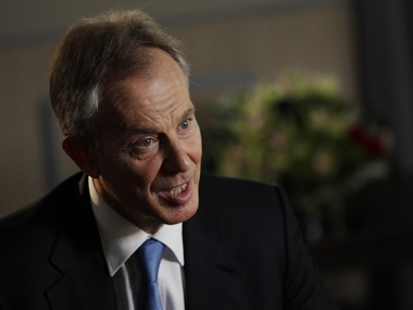 Former British Prime Minister Tony Blair. Reuters