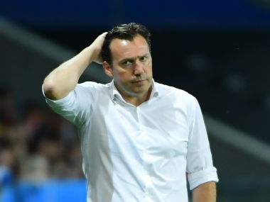 Euro 2016 Belgium manager Marc Wilmots blames mistakes by makeshift defence for loss against Wales