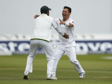 Yasir Shah ended up with a 10-wicket haul at Lord's. Reuters