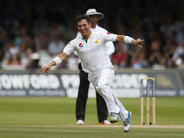 Yasir Shah. Getty Images