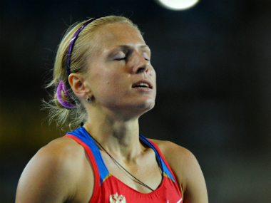 File photo of Yulia Stepanova. AFP