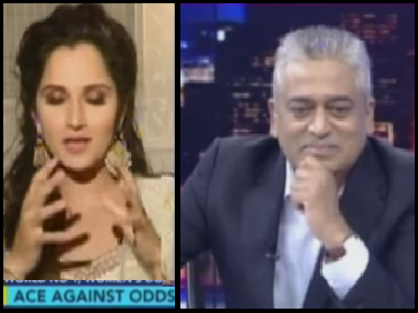 Rajdeep Sardesai learns a humble lesson on sexism in his interview with Sania Mirza