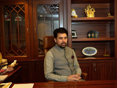 File image of Anurag Thakur. CNN-news18