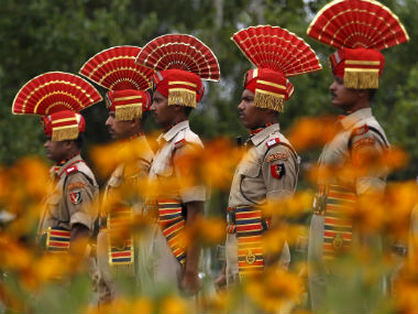 File image of Indian border security force. Reuters
