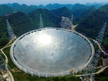 Hunt for ET China to use worlds largest radio telescope to look for extraterrestrial life