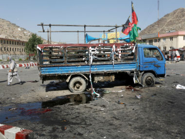 Aftermath of the Kabul attack. Reuters