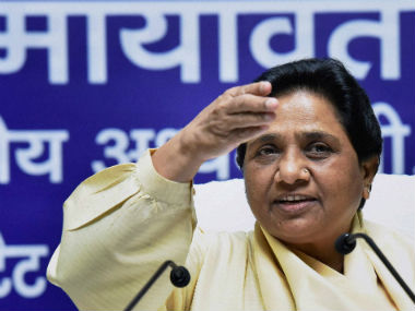 BJP is preventing Dayashankar Singhs arrest alleges Mayawati