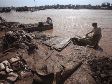 A file photo of floods in Pakistan earlier this year. Reuters
