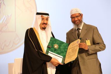 A file photo of Zakir Naik. AFP