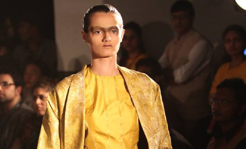 Designs from Sanjay Garg's Raw Mango. Image courtesy: Lakme Fashion Week/Facebook