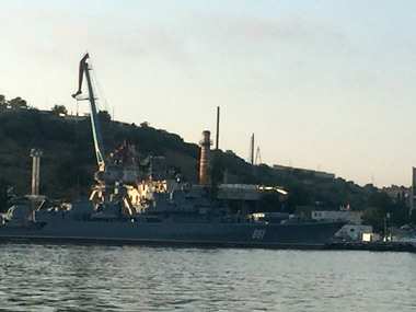Russian warships in Black Sea. Sreerupa mitra Jha/ Firstpost