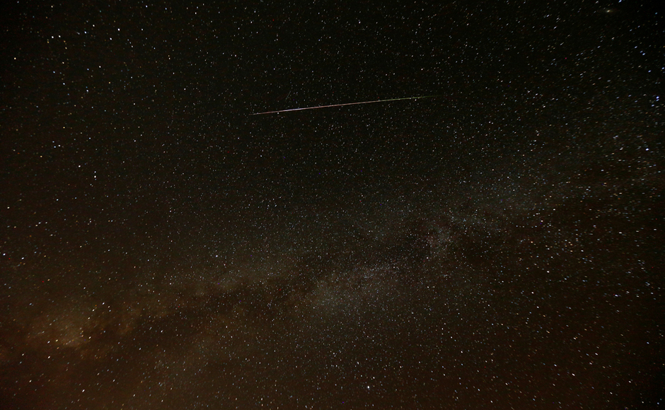 For about an hour around 2300 GMT, there will be more than double the usual fireball activity associated with the annual Perseid meteor shower. Reuters