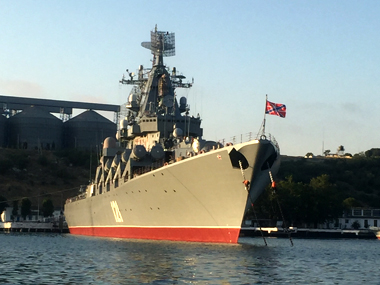 Russian Warships in the Black Sea. Sreerupa Mitra Jha/ Firstpost