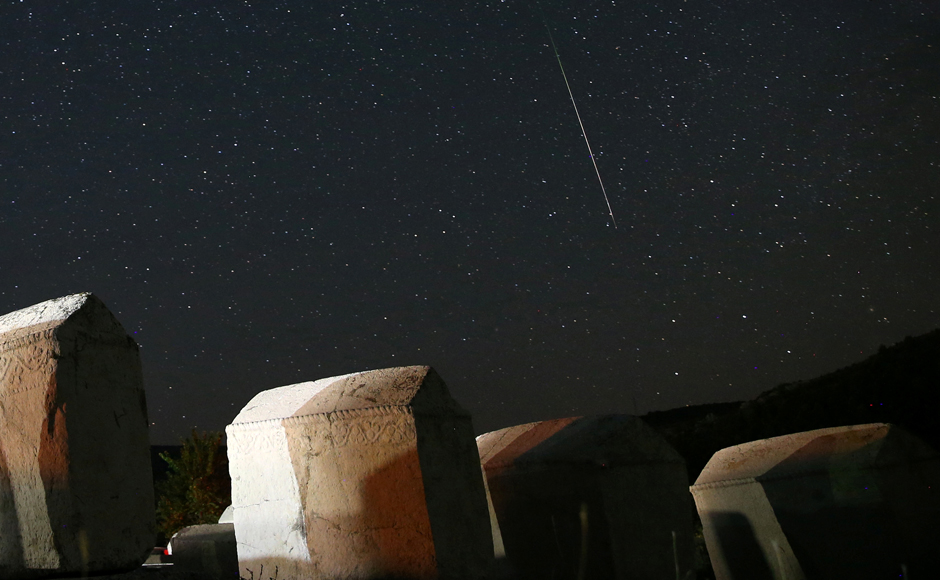 """The meteors you'll see this year are from comet fly-bys that occurred hundreds if not thousands of years ago,"" Nasa meteoroid expert Bill Cooke said in a statement. Reuters"
