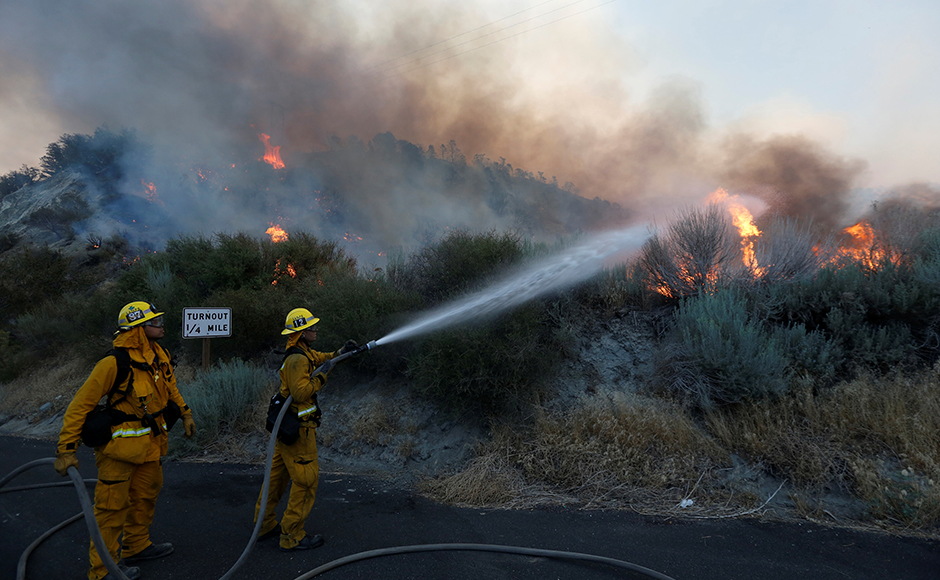 """In my 40 years of fighting fire, I've never seen fire behavior so extreme as it was yesterday,"" Michael Wakoski, the incident commander on the fire, told a news conference on Wednesday. Reuters"