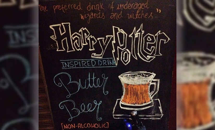One butterbeer coming up Hogwarts Cafe in Islamabad is a Potterheads dreamcometrue